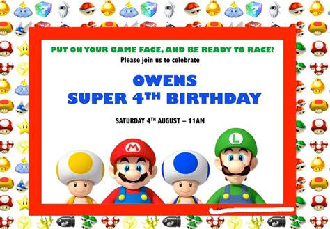 12 best images about supermario birthday on pinterest