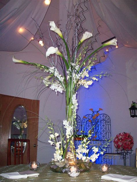 Tall Calla Lily Wedding Centerpieces Tall Wedding Calla Lilies Centerpieces For Weddings