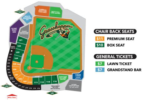 greensboro grasshoppers seating chart ticket faq s greensboro grasshoppers tickets