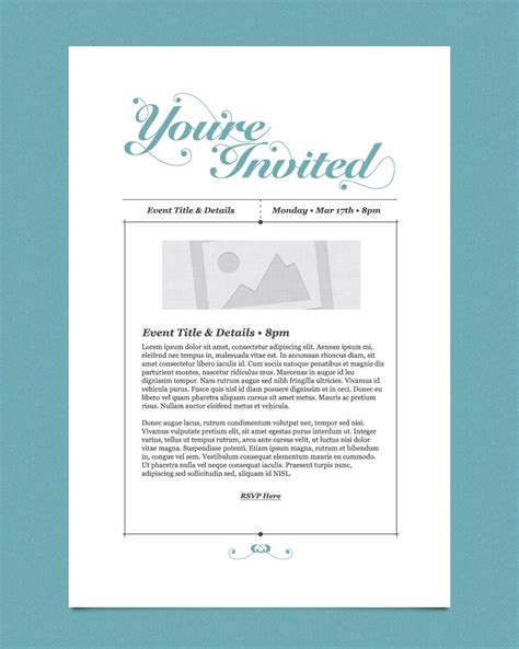 10 best images of business invitation templates business