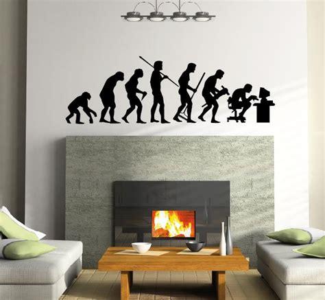 Alas Foto Motif Wall 50cm X 100cm Lebih Besar Dari A2 A1 menschen evolution mensch wandtattoo wandtattoos und wandaufkleber im shop bestellen