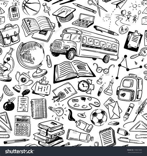doodle pattern school related keywords suggestions for school doodles