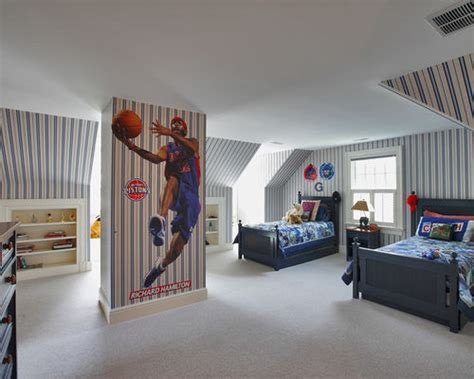 basketball bedrooms basketball bedroom home design ideas pictures remodel