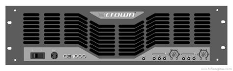 Power Lifier Crown Ce 1000 crown ce 1000 manual stereo power lifier hifi engine