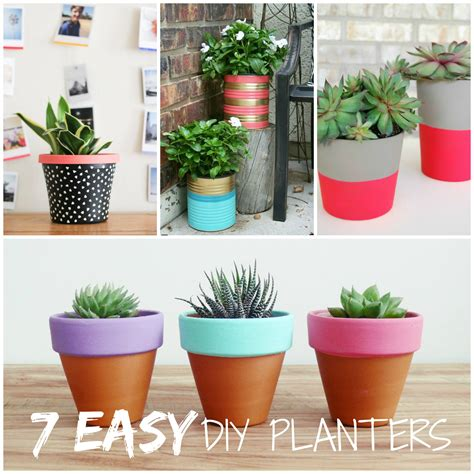 planters diy trending tuesday 7 easy diy planters creative juice