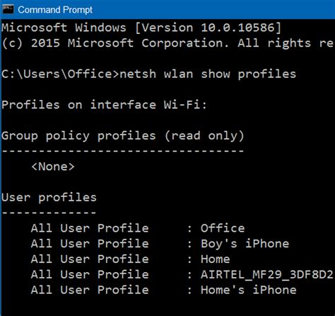 reset wifi via cmd how to view saved wi fi passwords in windows 10