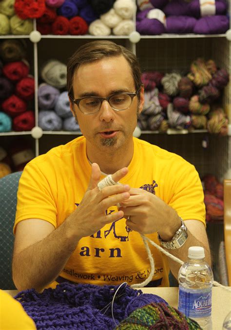 finger knitting world record a world record knit and run loveknitting