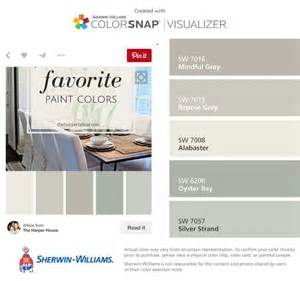 i found these colors with colorsnap 174 visualizer for iphone by sherwin williams mindful gray sw