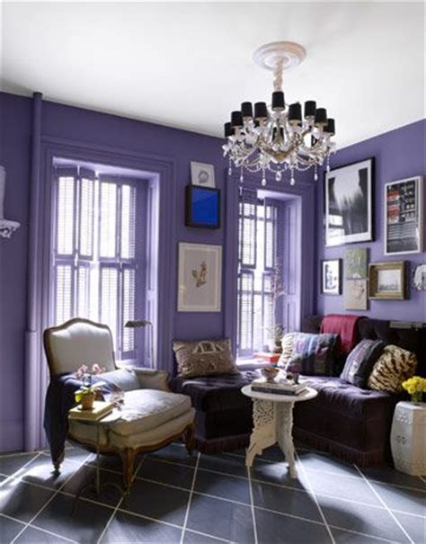 lavender walls home decoration