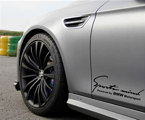 Custom Stiker Sport Mind Image Gallery Bmw Decals