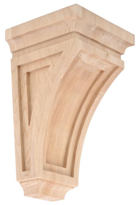 Types Of Corbels Shaker Type Wooden Corbel