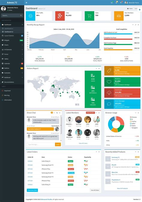 free bootstrap themes adminlte free bootstrap admin templates thesoftwareguy
