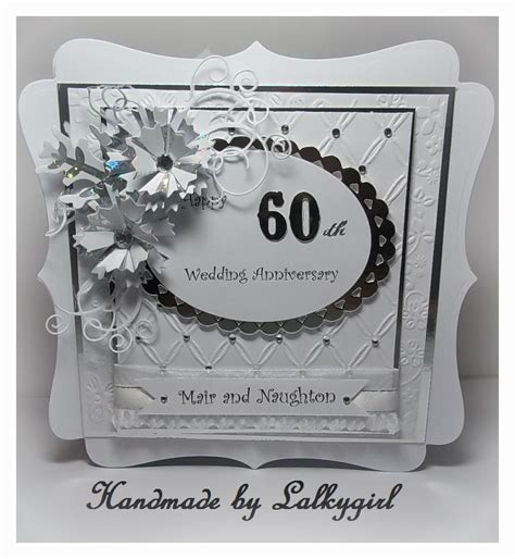 Beckylynn S 60th Anniversary Card by My Creative Place Happy 60th Anniversary Card