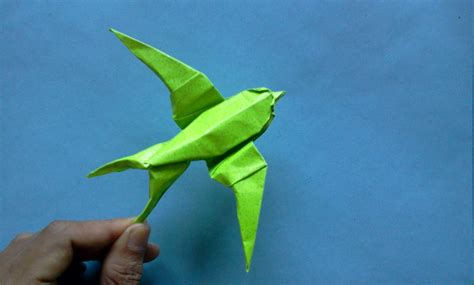How To Make Birds With Paper - how to make origami bird sipho mabona