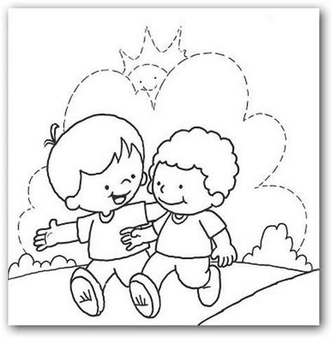imagenes amor y amistad para colorear im 225 genes de fel 237 z d 237 a del amigo para colorear imprimir y