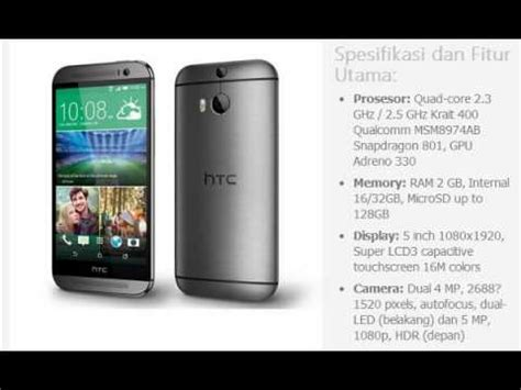 Hp Htc M8 harga hp htc one m8