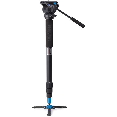 Monopod Benro benro a48t classic aluminum monopod with s4 a48tbs4 b h