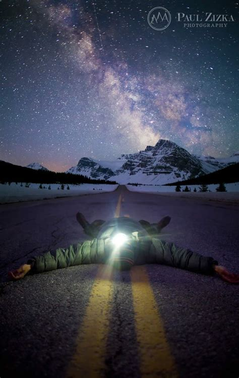 beautiful landscape photography canada night view