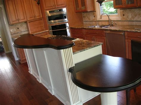 Handmade Wenge Raised Bar And Breakfast Table by Craft Art