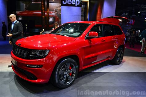 jeep srt 2015 red vapor 2015 jeep grand cherokee srt red vapor now available to