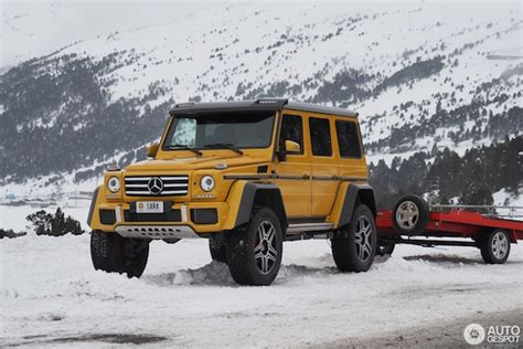 Mercedes G500 4x4 Price by Mercedes G500 4x4 Is Ideal For The Wintersport