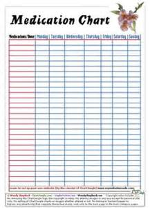 pill calendar template 8 best images of printable patient chart for medication
