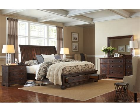 Aspen Home Bedroom Furniture Aspenhome Bedroom Set W Storage Bed Westbrooke Asi59 400sset