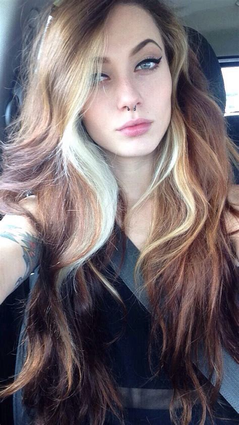 images of ladies blonde streaked hairstyles the 25 best hair streaks ideas on pinterest black hair