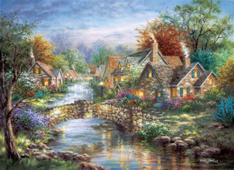 Landscape Jigsaw Puzzles Jigsaw Puzzle Landscape Stonehenge Bridge 1000 Nib