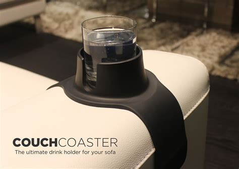 cup holder couch couchcoaster the ultimate drink holder for your sofa