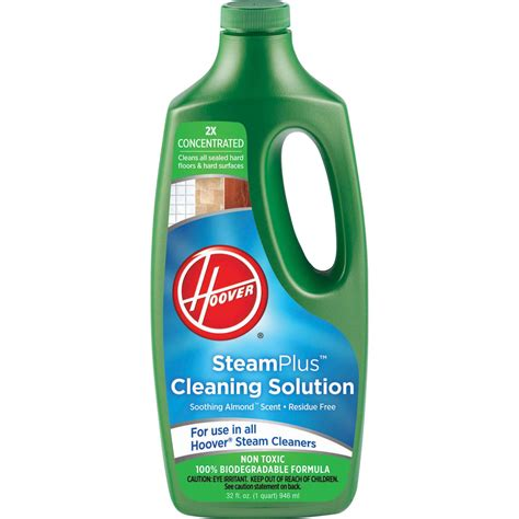 hoover 2x stelus cleaning solution floor care