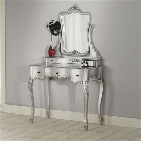 silver bedroom vanity 1000 images about silver furniture i