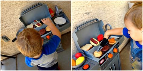 Tikes Backyard Barbeque by Why Toddlers Tikes Bbq Kitchen
