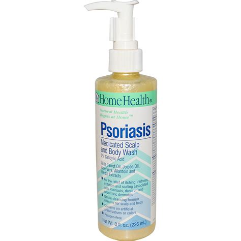 Psoriasis Shower by Home Health Psoriasis Medicated Scalp And Wash 8
