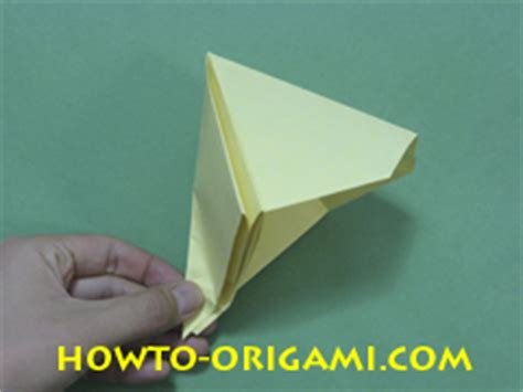 How Do You Make Paper Poppers - popper origami cork pop gun origami 187 how to origami