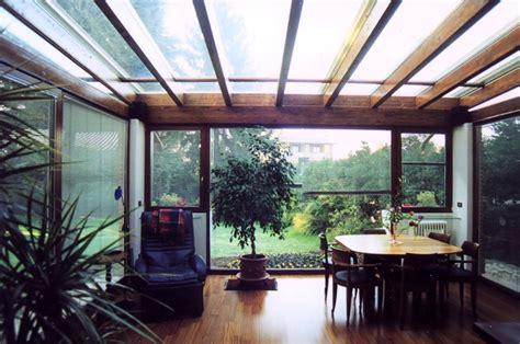 copertura veranda in legno verande in legno lamellare tendasol brescia bergamo