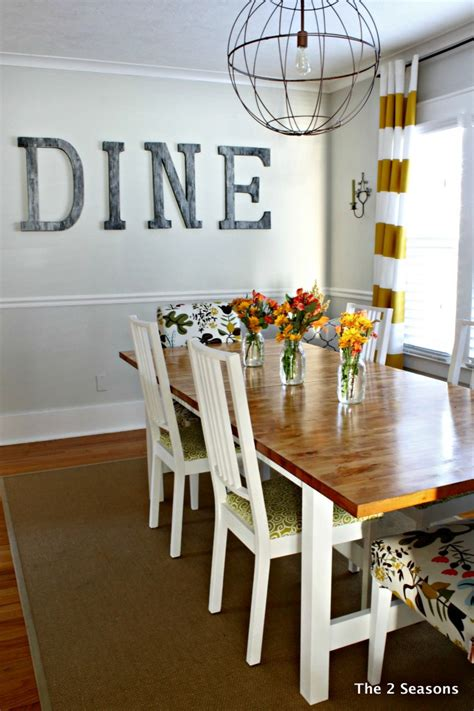 what decorations are suitable for the dining table staining a dining room table