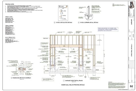 Garage Door Header Framing Garage Door Framing Diagram Periodic Tables