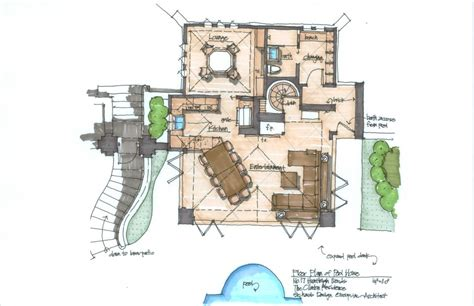 cabana floor plans planning and drawing poolside cabana architecture design