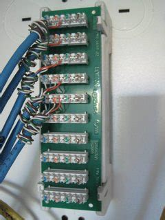 wiring    network patch panel   house