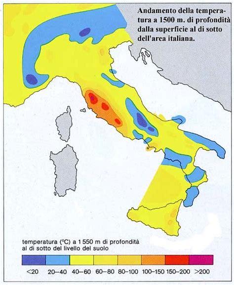 calore interno della terra materiale didattico