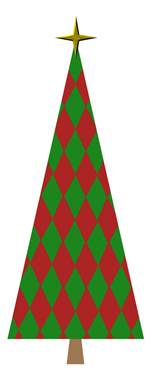 wrapped for life vector shape christmas tree bundle 1