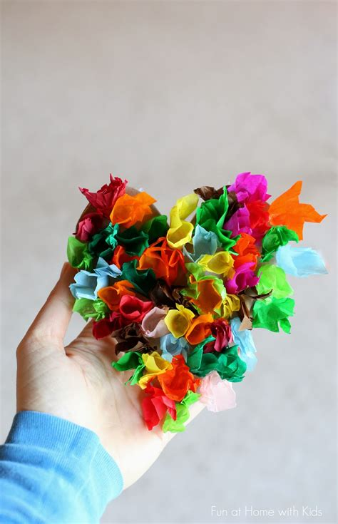 Easy Tissue Paper Crafts - tissue paper craft for