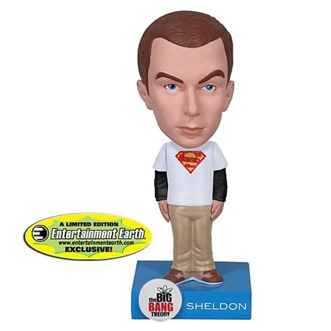 big 6 bobbleheads ee exclusive big theory superman sheldon bobble