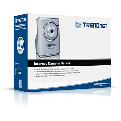 Trendnet Poe Server With Audio Tv Ip201p Server Ip110 Transmits Real Time High Quality