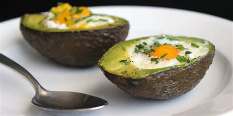Easy Paleo Breakfast Popsugar Fitness by Paleo Breakfast Recipe Eggs Baked In Avacado Popsugar Fitness Australia