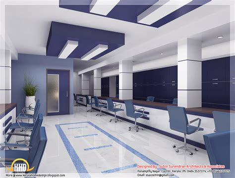 house office design beautiful 3d interior office designs kerala home design kerala house plans home