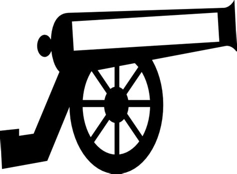 cannon clipart big cannon clip at clker vector clip