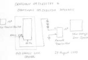 craftsman garage door opener sensor wiring diagram download free, Wiring diagram