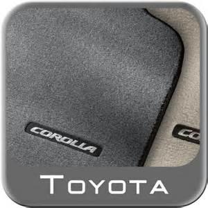 2003 2008 toyota corolla carpeted floor mats gray